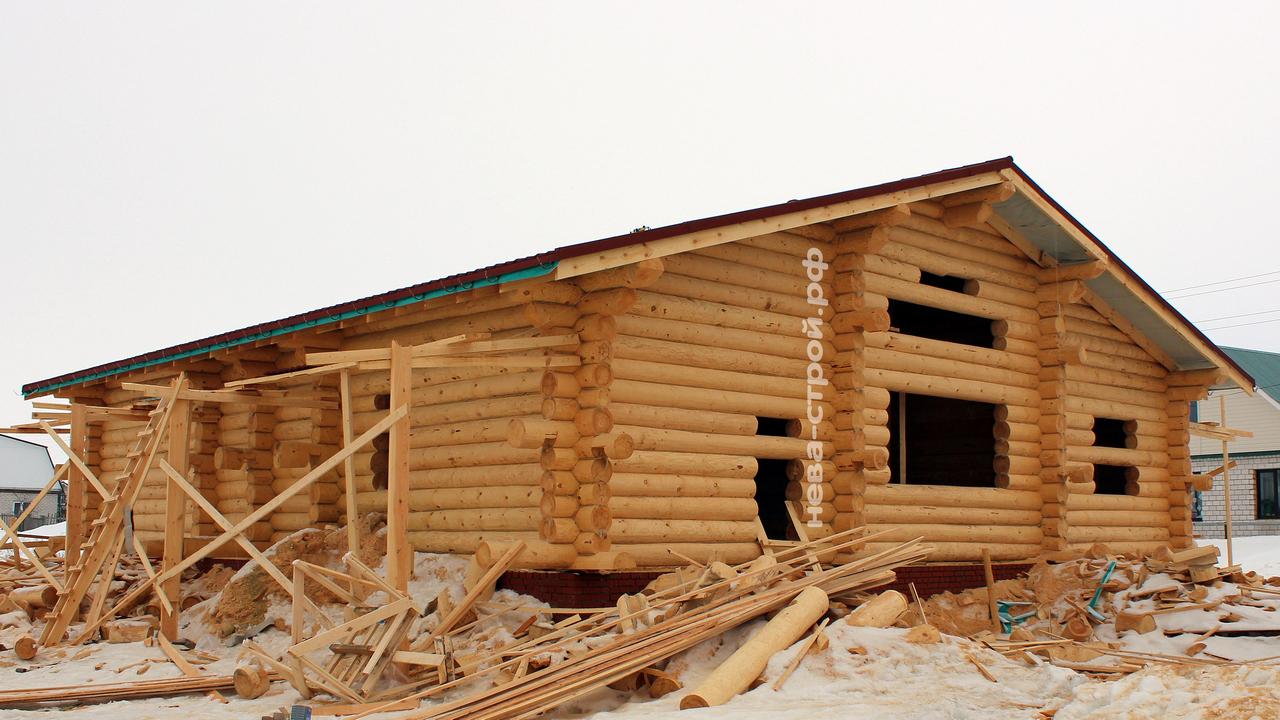 Крыша на сруб